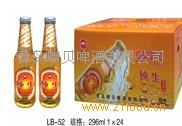 青岛小白金啤酒***