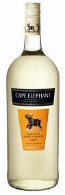 开普大象低度白葡萄酒