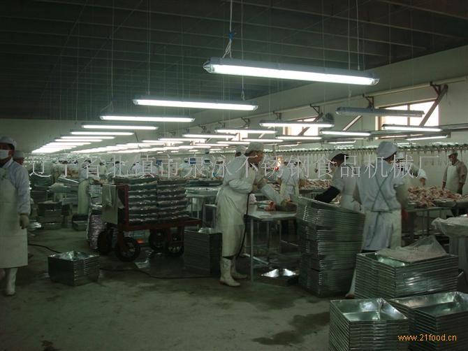 雞鴨屠宰分割加工不銹鋼設備