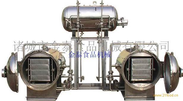 JTΦ900-1800全自动喷淋式高温高压杀菌锅