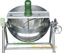 厂家直销电加热可倾带搅拌式夹层锅