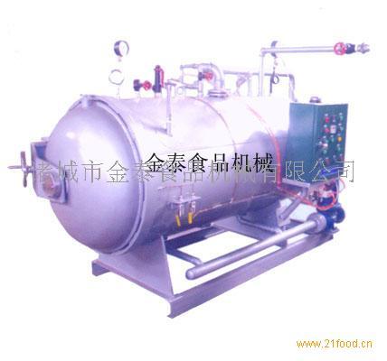 发酵饮品 水产品专用喷淋式单锅杀菌锅设备