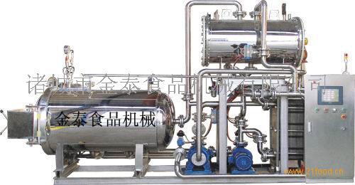 JTΦ500-800电加热半自动喷淋式杀菌锅
