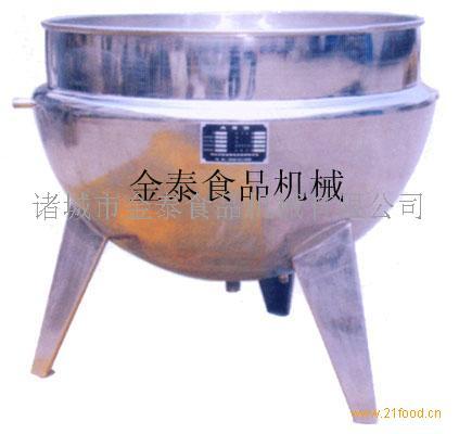 不锈钢立式夹层锅(熬糖稀、搅拌)