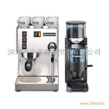 【商品名称】 意大利兰奇里奥Silvia半自动咖啡机+Rocky磨豆机