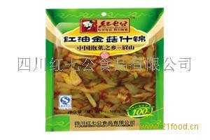 红油金菇什锦