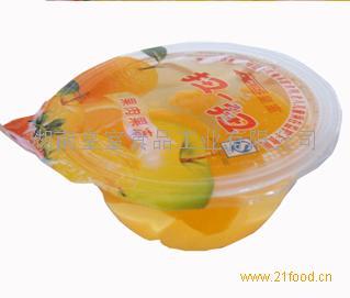 80g果肉果冻(香橙)