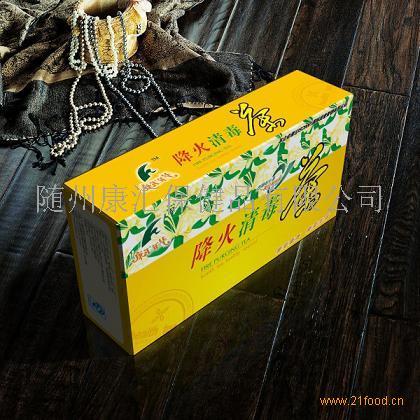 夏季流行降火清毒茶