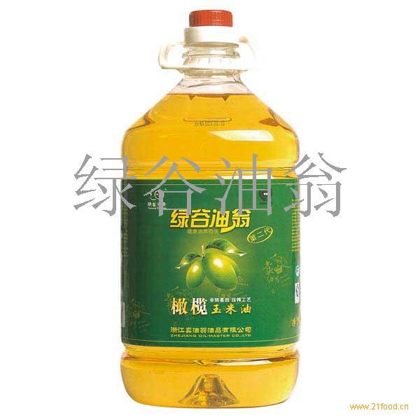 绿谷油翁橄榄玉米油 食用油 5L