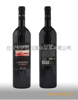 意大利葡萄酒雷萨别叶有机红葡萄酒