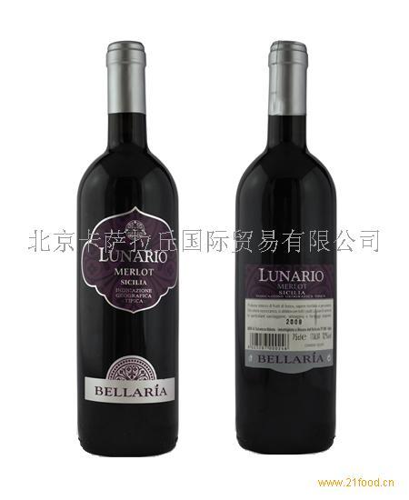 Merlot美乐红葡萄酒意大利葡萄酒