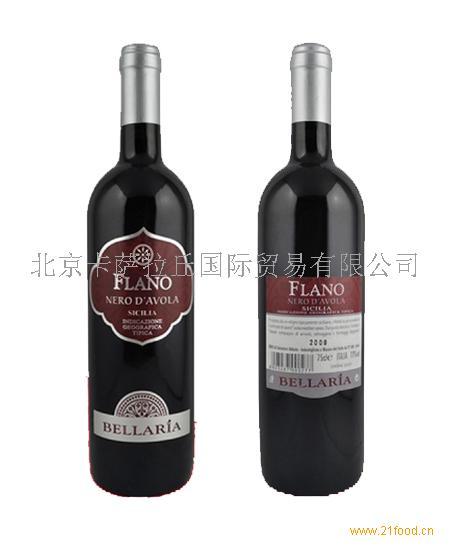佛拉诺红葡萄酒Flano进口意大利葡萄酒