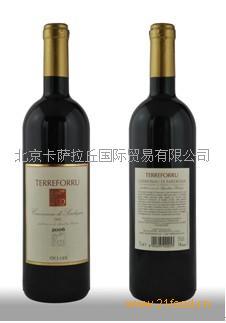 进口意大利葡萄酒泰尔弗瑞有机红葡萄酒TERREFORRU