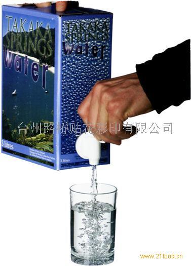 苏打水盒中袋