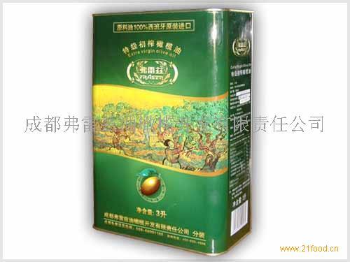 弗雷兹特级初榨橄榄油3L铁盒装(进口分装)