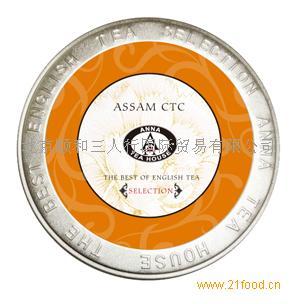 阿萨姆CTC红茶圆罐