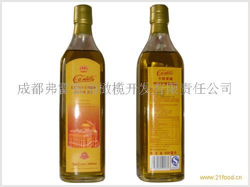 卡斯蒂娅 600ML特级初榨橄榄油