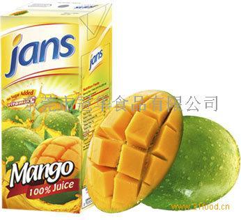 JANS100%芒果果汁 (进口食品 进口饮料)