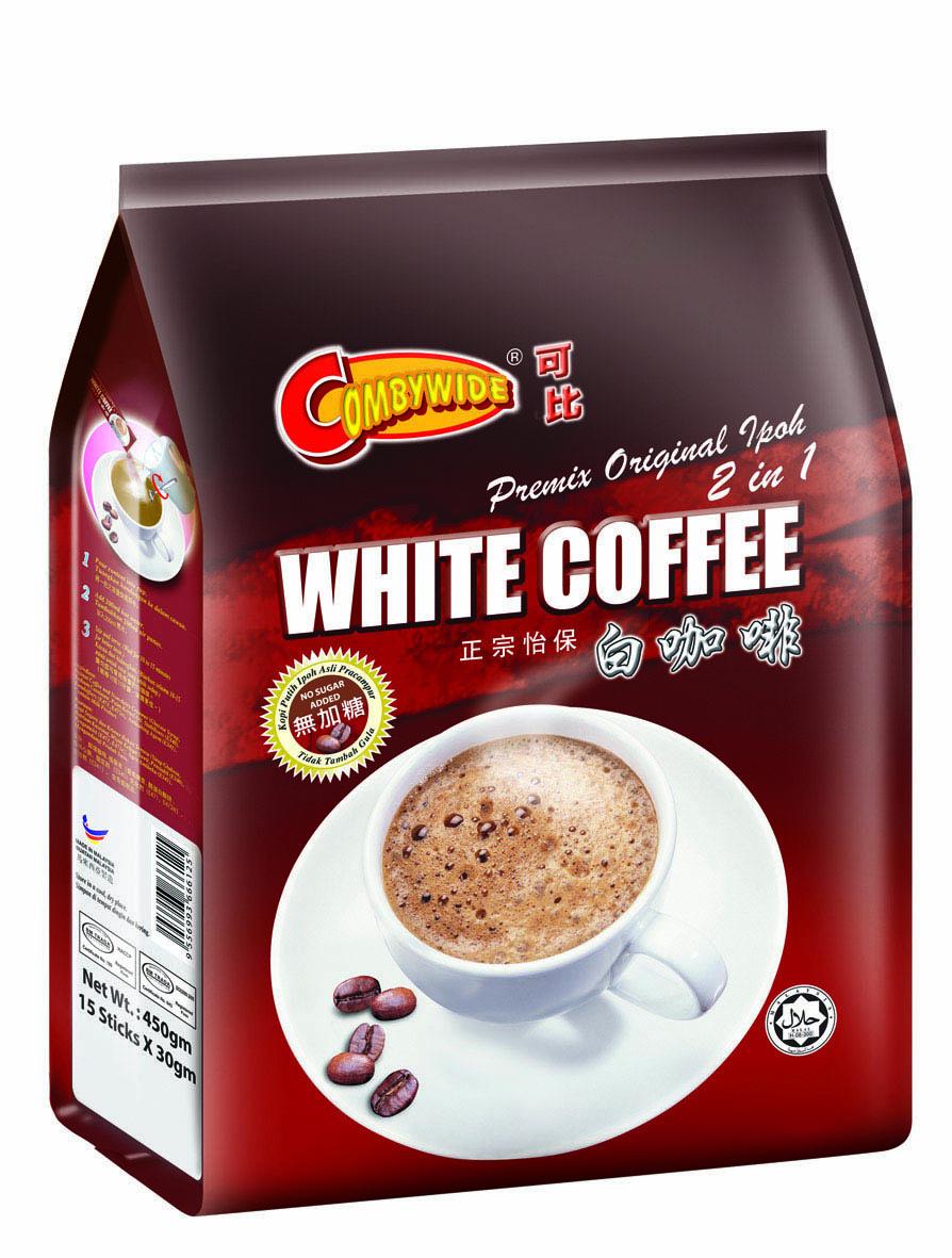 可比 正宗怡保白咖啡(二合一无糖)
