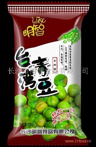 32g台湾青豆(牛肉味)诚招各地区经销商