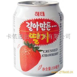 海太草莓果肉果汁