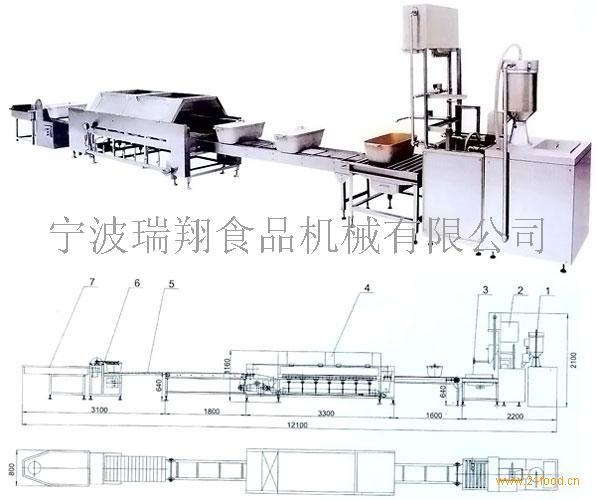 150经济型联合自动米饭生产线