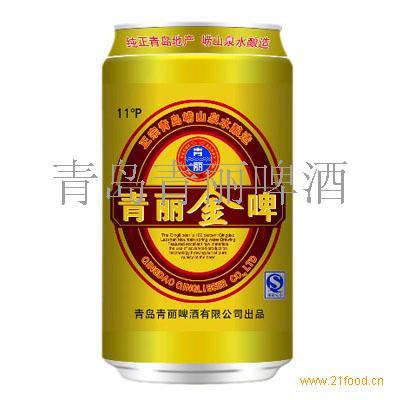 金啤 纯生;易拉罐;啤酒;青丽啤酒;青岛青丽;青岛啤酒;黑啤;金啤;原浆