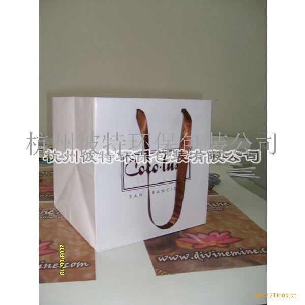 供应环保袋_浙江杭州__纸质材料类-食品商务网