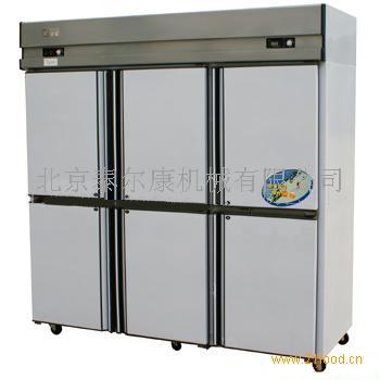 冰箱,六门冷藏冷冻冰箱,上海一喜牌冰箱; 供应六门双机双温冷藏柜