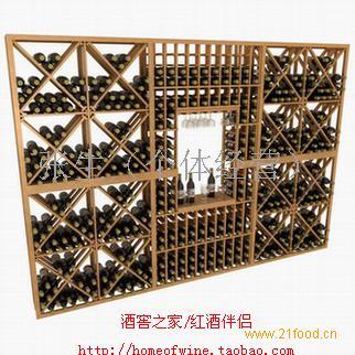 葡萄酒架木制酒架实木酒架酒窖z1