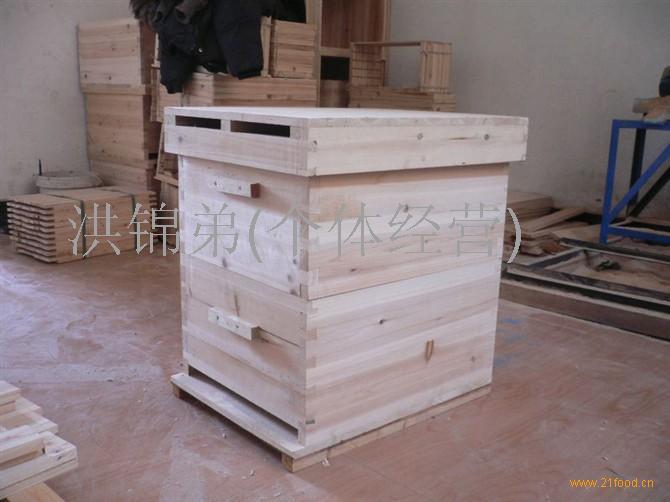 木制蜂箱结构图