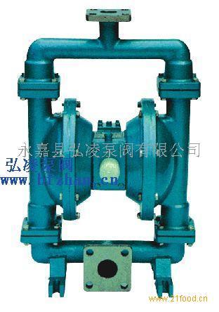 气动隔膜泵工作原理-永嘉县弘凌泵阀有限公司-公司图片