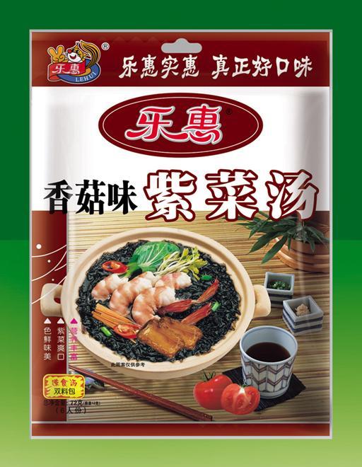 乐惠紫菜汤(香菇味)