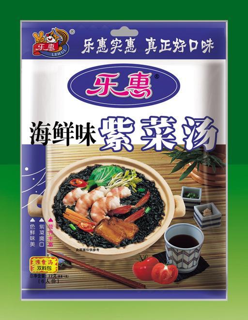 乐惠紫菜汤(海鲜味)