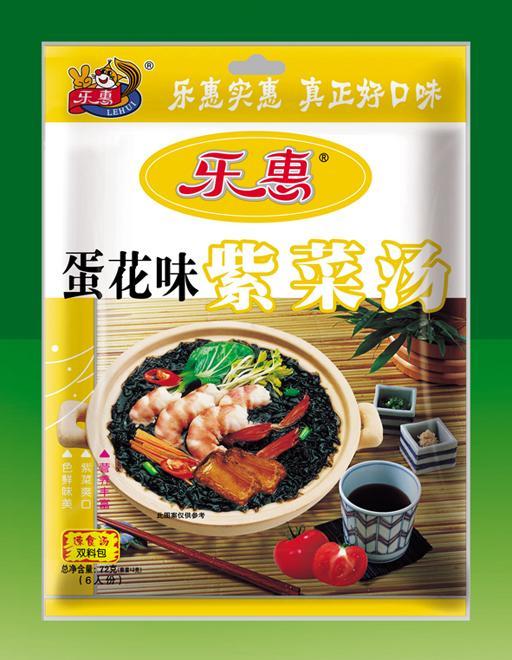 乐惠紫菜汤(蛋花味)