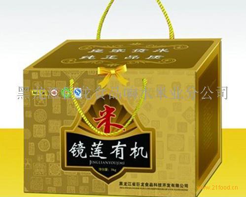 镜莲有机米_黑龙江牡丹江__大米-食品商务网