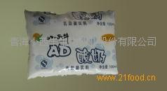 高钙无糖袋酸乳饮料