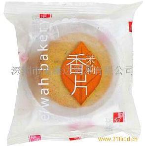 香港进口奇华茉莉香片茶薄饼