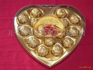 16粒装心形巧克力