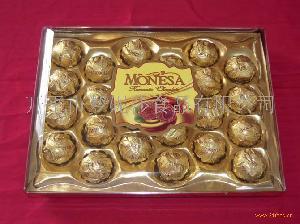 24粒方盒巧克力
