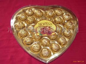 24粒心形巧克力