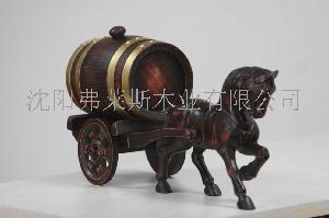 橡木桶 单马拉车式