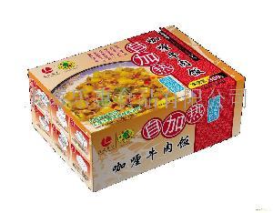 自加熱米飯  咖喱牛肉味  精裝300G