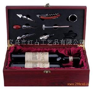 仿古木酒盒