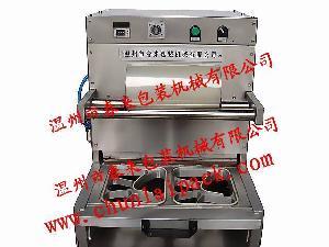供应AS-2托盘快餐盒封口机