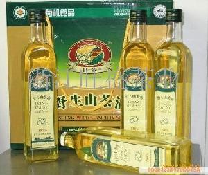 有机绿色旺盛山茶油500ml*4