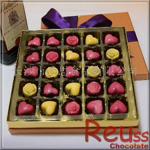 礼盒夹心巧克力25颗RD101