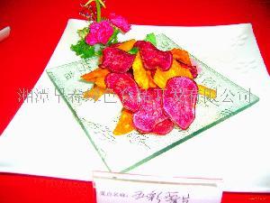 彩色鮮果紅薯