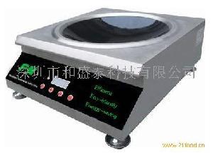 商用电磁炉--台式凹面