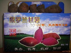 紫罗兰紫番薯